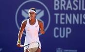 Teliana avança em Florianópolis, e Brasil têm duas tenistas nas quartas
